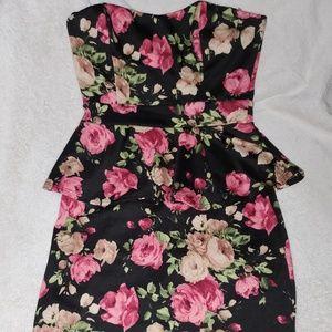 Mini fitted dress